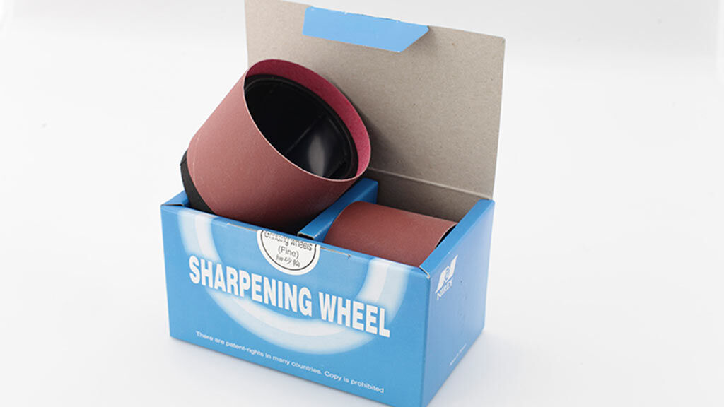 204 - Grinding Wheels -Carrier wheels with abrasive belts