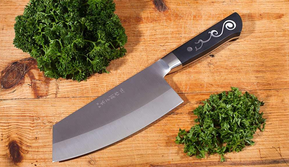 402 - Oriental Slicing Knife _parsley