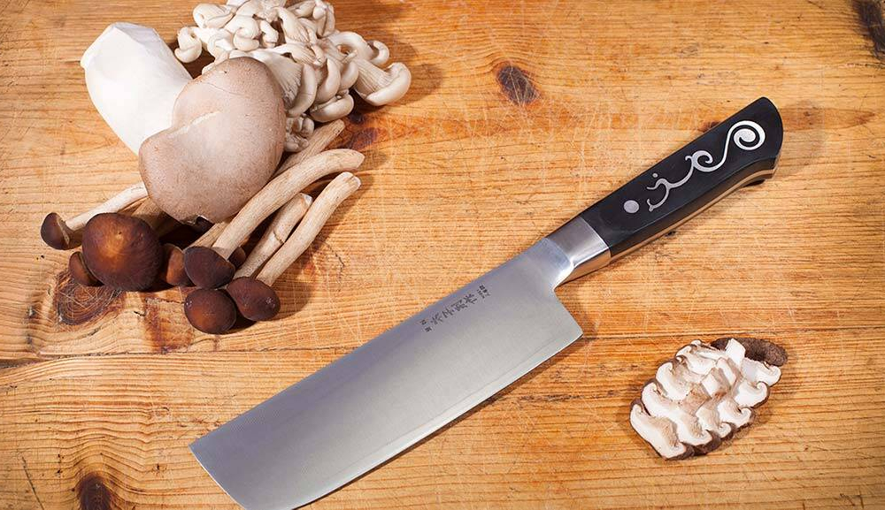 403 Nakiri Vegetable Knife - Broad Knife