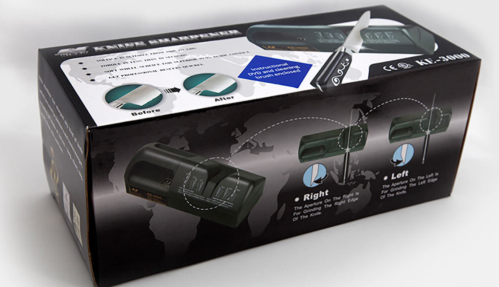 Nirey KE3000 – Electric Knife Sharpener box view