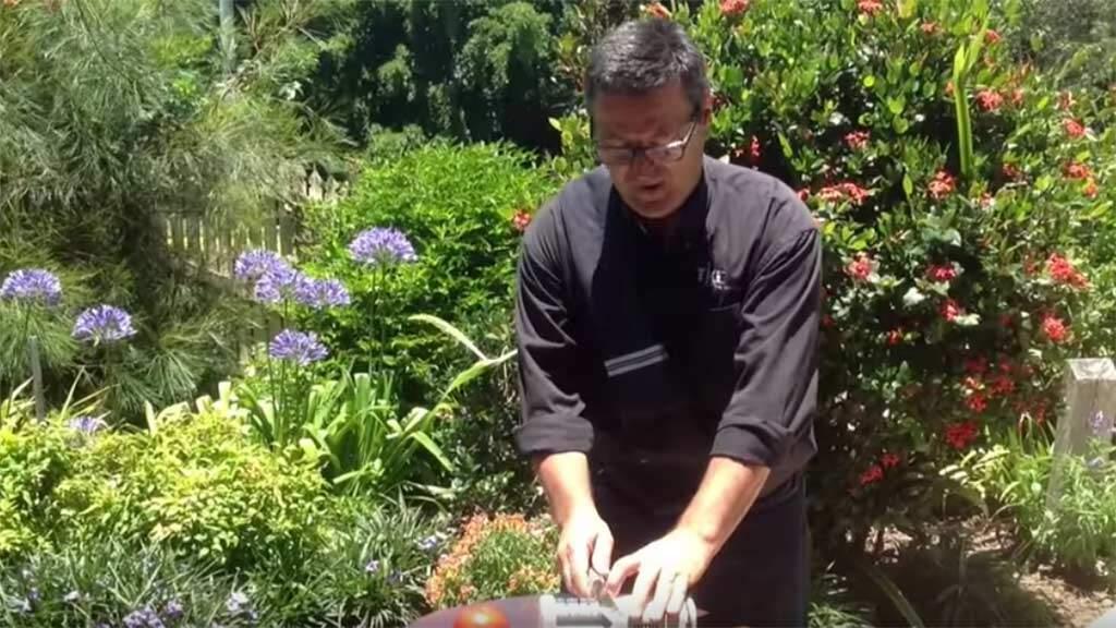 knife sharpening video