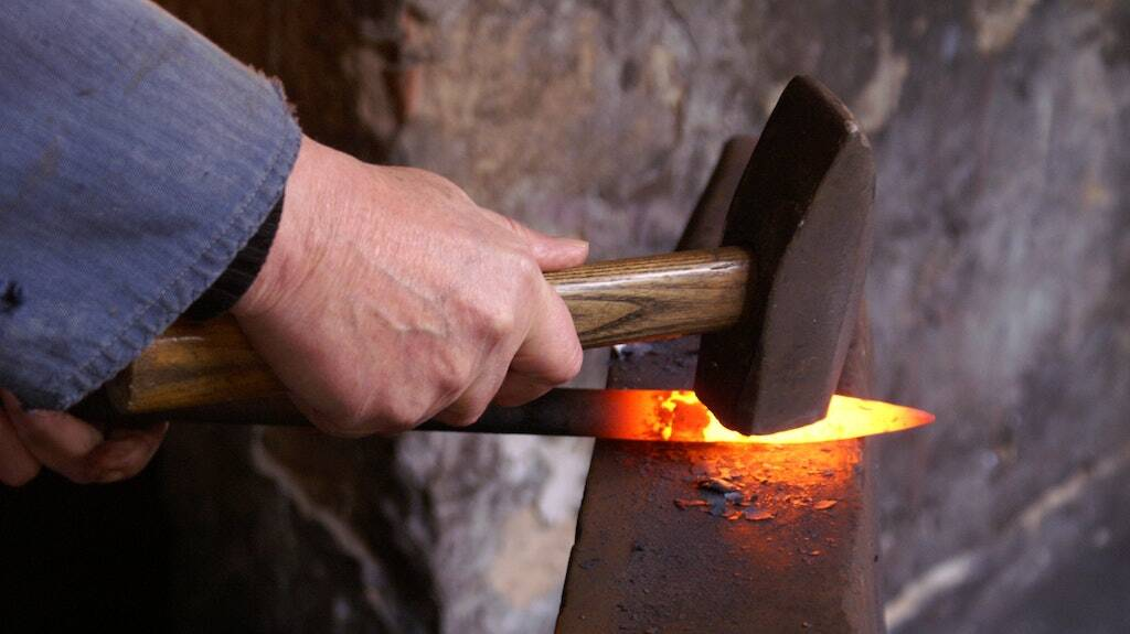 If you go down to the woods today… you'll probably find someone making artisanal handcrafted knives